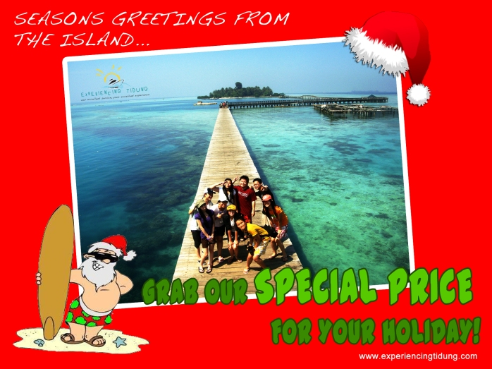 christmas promo - Experiencing Tidung