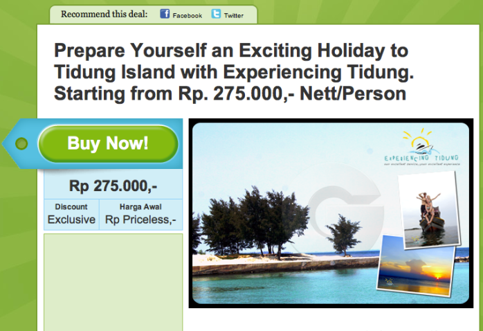 Promo Join Experiencing Tidung